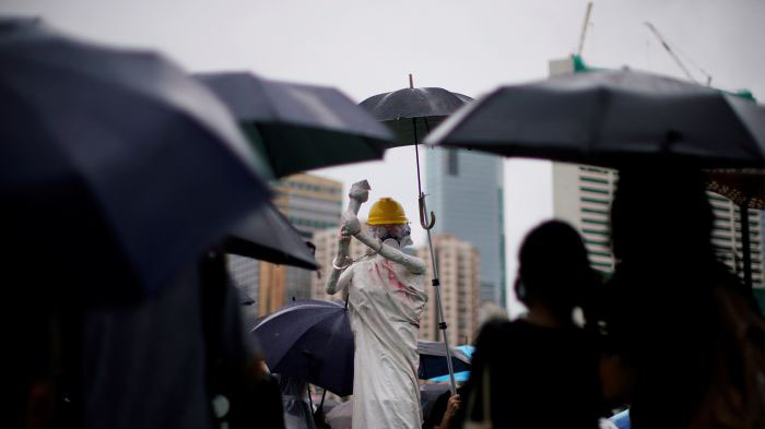 海外中国留学生如何面对香港抗议运动