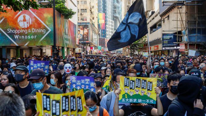 """抗议持续 香港网友呼吁""""双十一罢买淘宝"""""""
