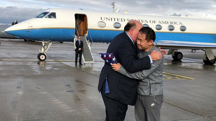美国伊朗交换囚犯 王夕越被关3年后获释