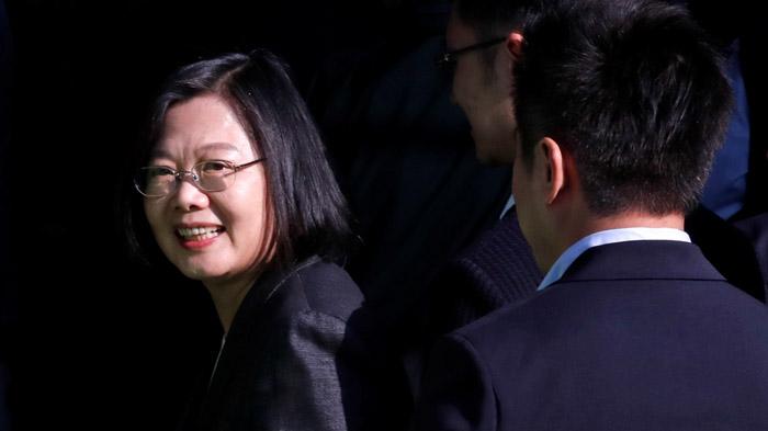 蔡英文谈台独一字之变引发台湾社会关注