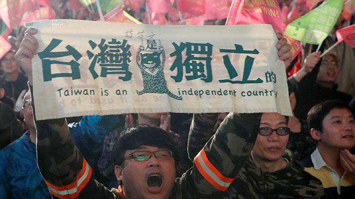 台灣國家的追尋道路
