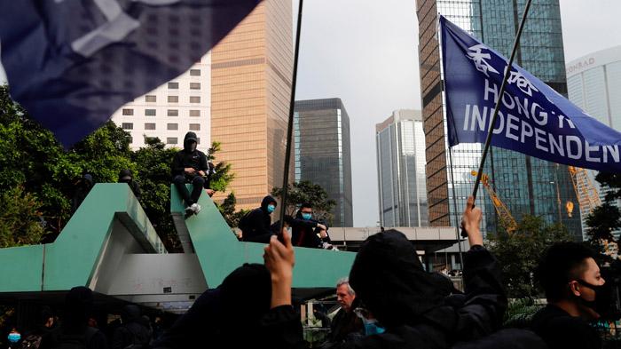 香港示威:农历新年前后街头是否正在恢复平静