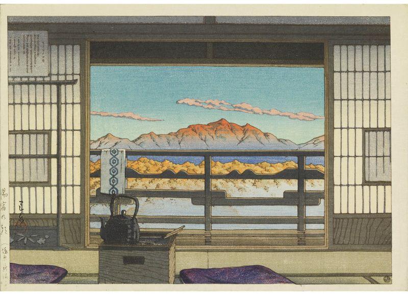 他画的雪景让人心生暖意,似乎注入了生命的体温