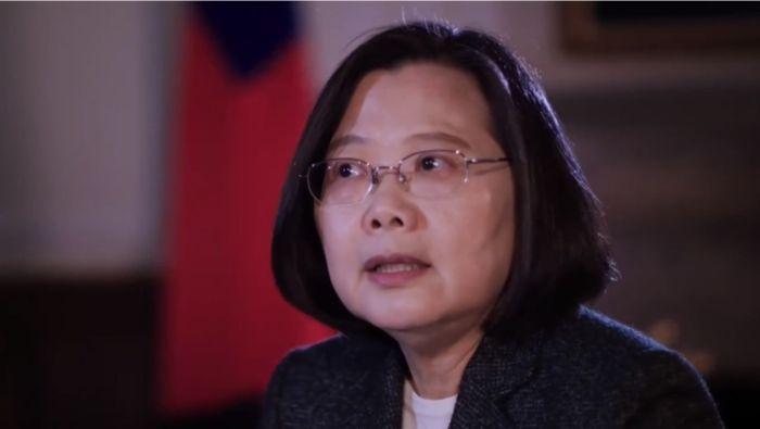 台湾总统蔡英文:中国需要向台湾表示尊重
