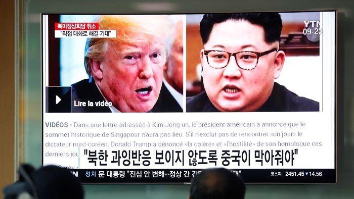 """韩国称""""密切关注""""美朝之间事态发展"""