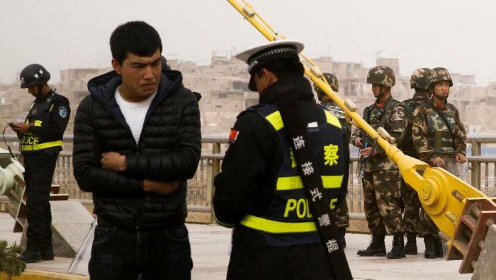 """法新社调查:新疆""""培训中心""""像监狱不像学校"""