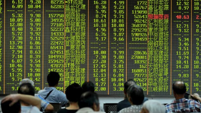 中国失2014年获的全球第二大股市排名 日本取而代之