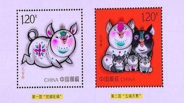 邮票图案设计引起联想 明年放宽生育猜测不胫而走