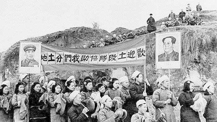 中共建政初期,有多少地主被镇压?