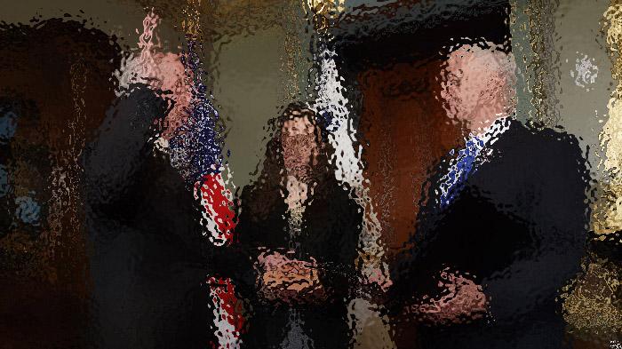 川普任命的国防和国安部长宣誓就职