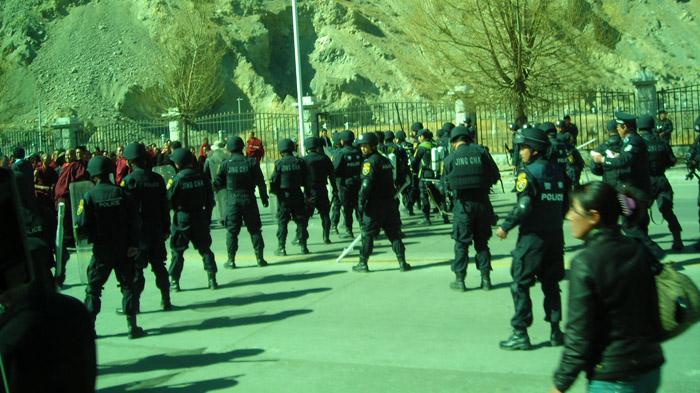 2008年图伯特人抗议十周年