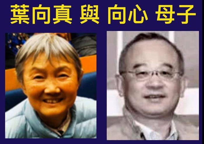 台湾前反统战人士推论:向心为中共元帅叶剑英外孙